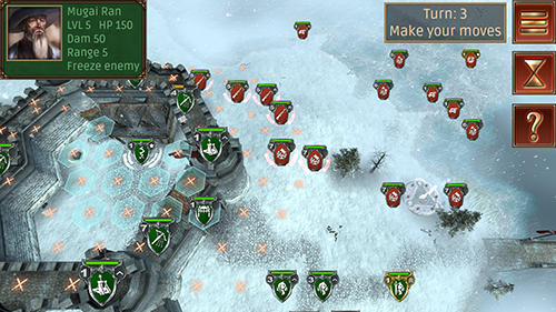 Hex commander: Fantasy heroes screenshot 1