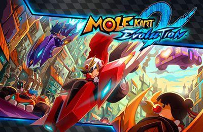 logo Mole Kart 2 Evolução