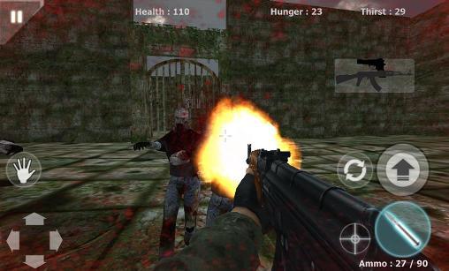 Commando: Zombie assault für Android