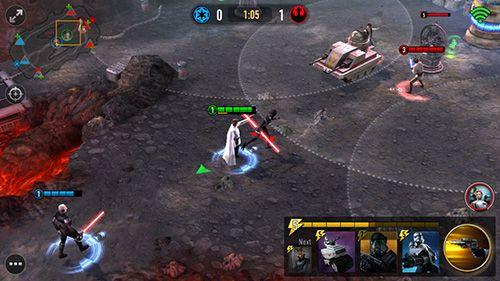 Screenshot Star Wars: Macht-Arena auf dem iPhone