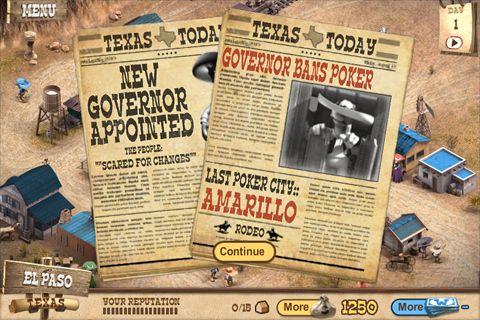 Gobernador del póquer 2: Premio para iPhone