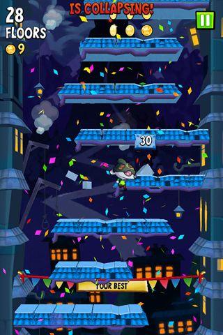 Screenshot Icy Tower 2: Zombie Sprung auf dem iPhone