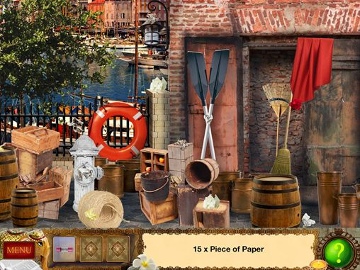 Captura de tela Detetive Holmes: Armadilha para o caçador - aventura de objetos escondidos no iPhone