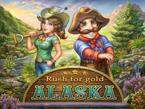 Rush for gold: Alaska Symbol