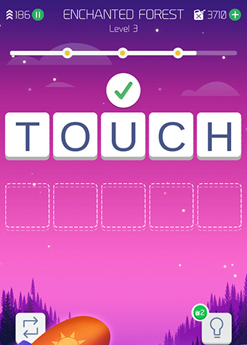 Word travel: The guessing words adventure für Android