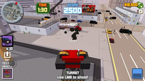 Cross fire for iPhone