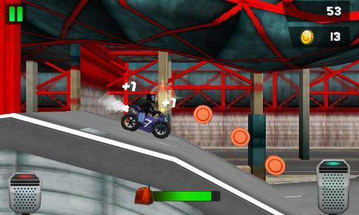 Top motorcycle climb racing 3D Screenshot