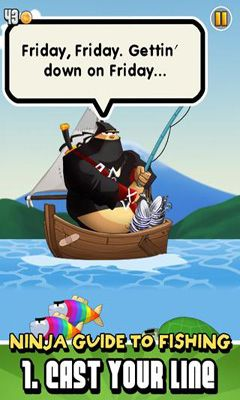 Arcade Ninja Fishing for smartphone