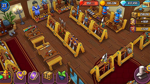 Shop titans: Design and trade для Android