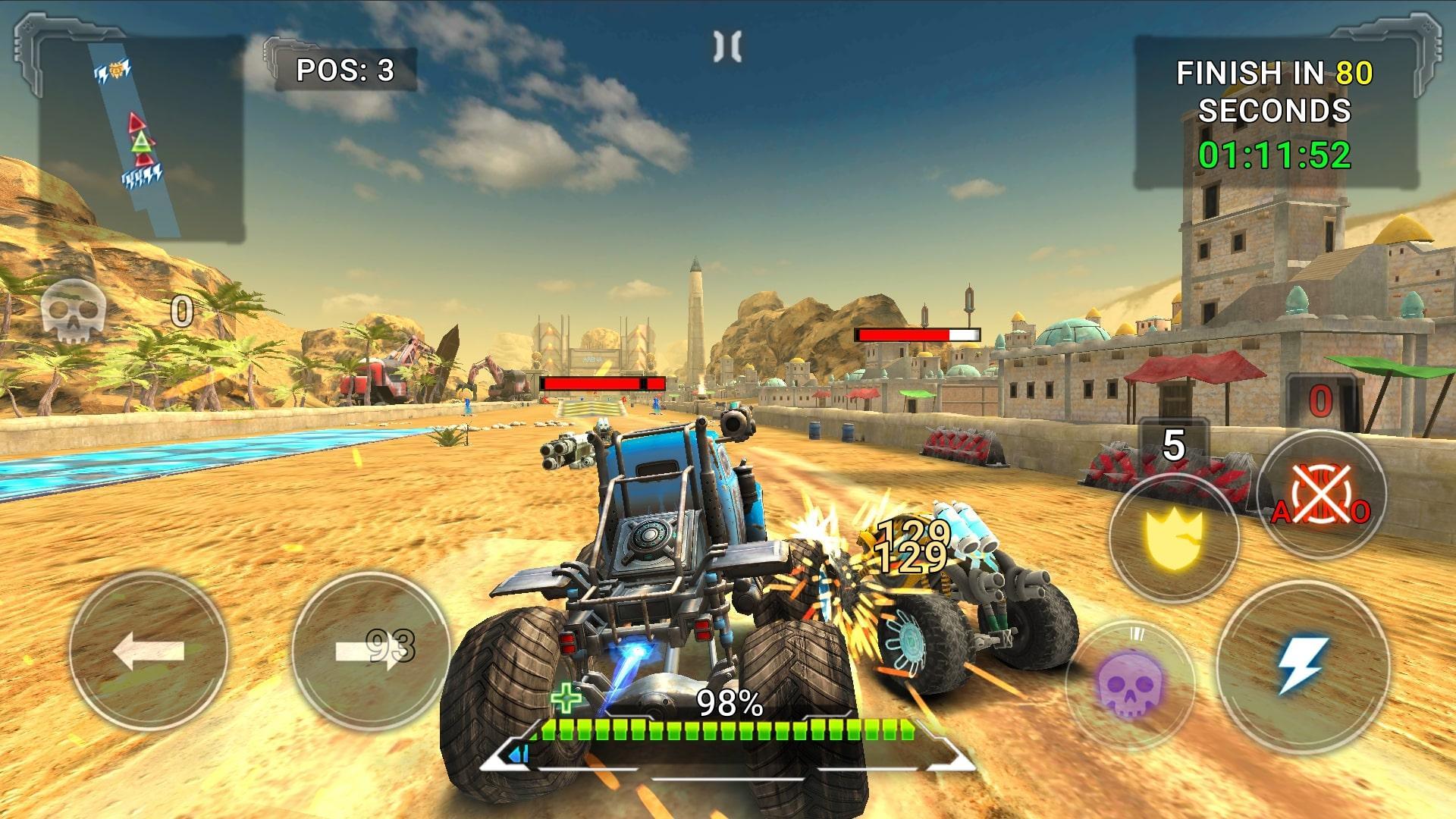 Android用 RACE - Rocket Arena Car Extreme