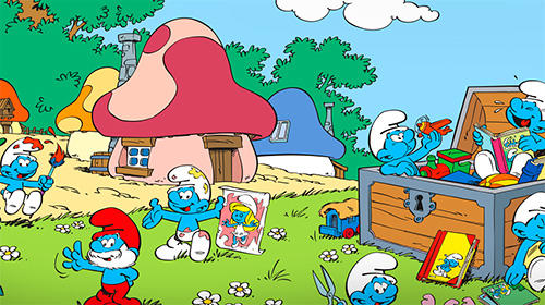 The Smurfs and the four seasons Screenshot
