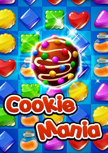 Cookie mania: Sweet match 3 puzzle captura de pantalla 1