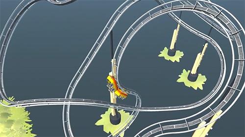 Simulation Craft and ride: Roller coaster builder für das Smartphone