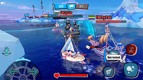 PvP Pirate code: PVP Battles at sea in English