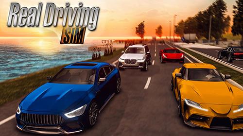 скріншот Real driving sim