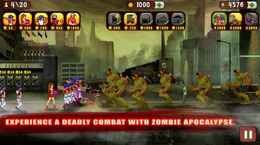 Baseball vs zombies für Android