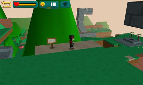 Arcade-Spiele Jabrix adventure 3D für das Smartphone