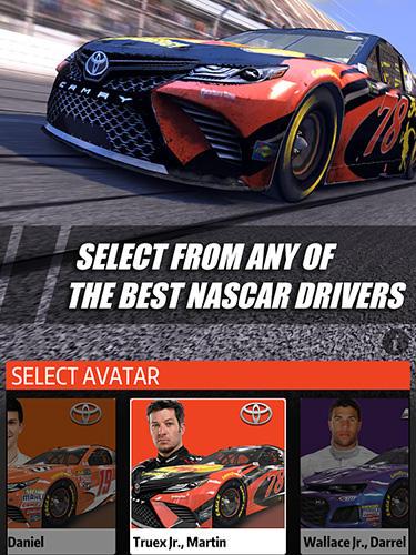 Rennspiele NASCAR rush für das Smartphone