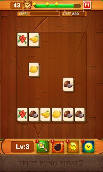Mahjong Fruit pong pong 2 auf Deutsch