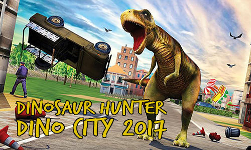 Dinosaur hunter: Dino city 2017 скріншот 1