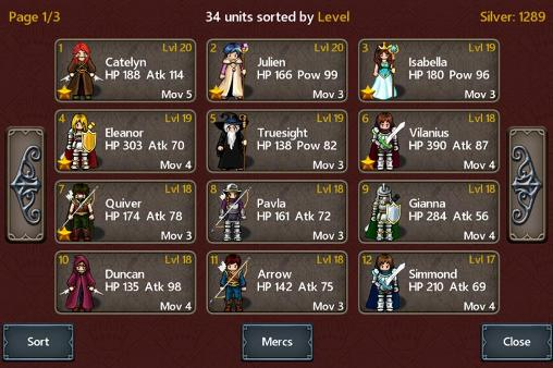 Tactics maiden Screenshot
