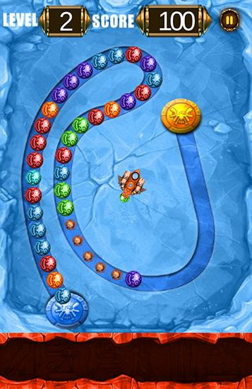 Bubble marbles shooter puzzle为Android