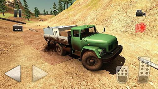 Truck driver: Crazy road 2 for Android
