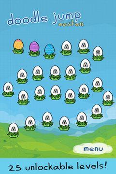 Аркады игры: скачать Doodle Jump Easter Special на телефон