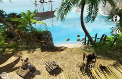 Квест игры: Destination: Treasure Island на телефон iOS
