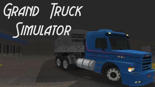 Grand truck simulator captura de pantalla 1