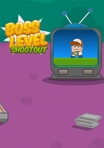 Boss level shootout Screenshot
