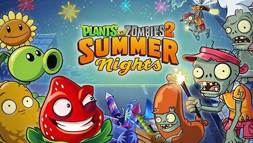 логотип Растения против зомби 2. Летние ночи: Клубничный взрыв