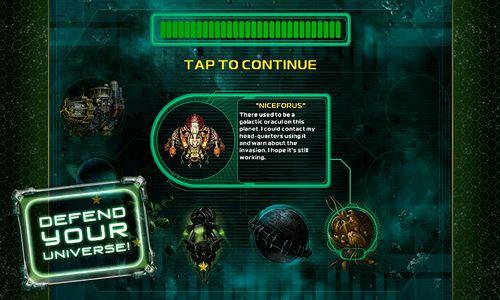 Screenshot Star Defender 4 auf dem iPhone