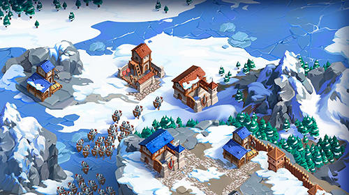 Strategiespiele Game of lords: The middle ages and dragons für das Smartphone