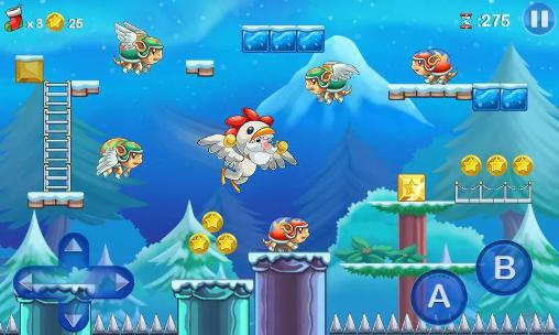Juegos de plataformas Mega Santa en español