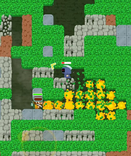 Dig bombers: PvP multiplayer digging fight für Android