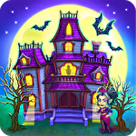 Monster farm: Happy Halloween game and ghost village ícone
