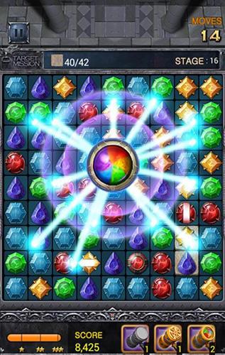 Arcade-Spiele Jewels dragon quest für das Smartphone