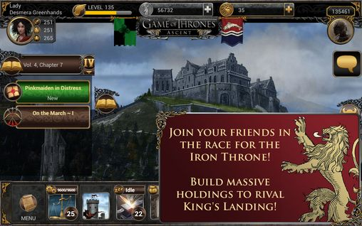 Game of thrones: Ascent pour Android