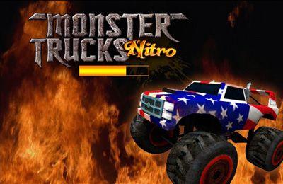 logo Monster Trucks Nitro