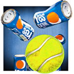 Can toss. Strike, knockdown icono