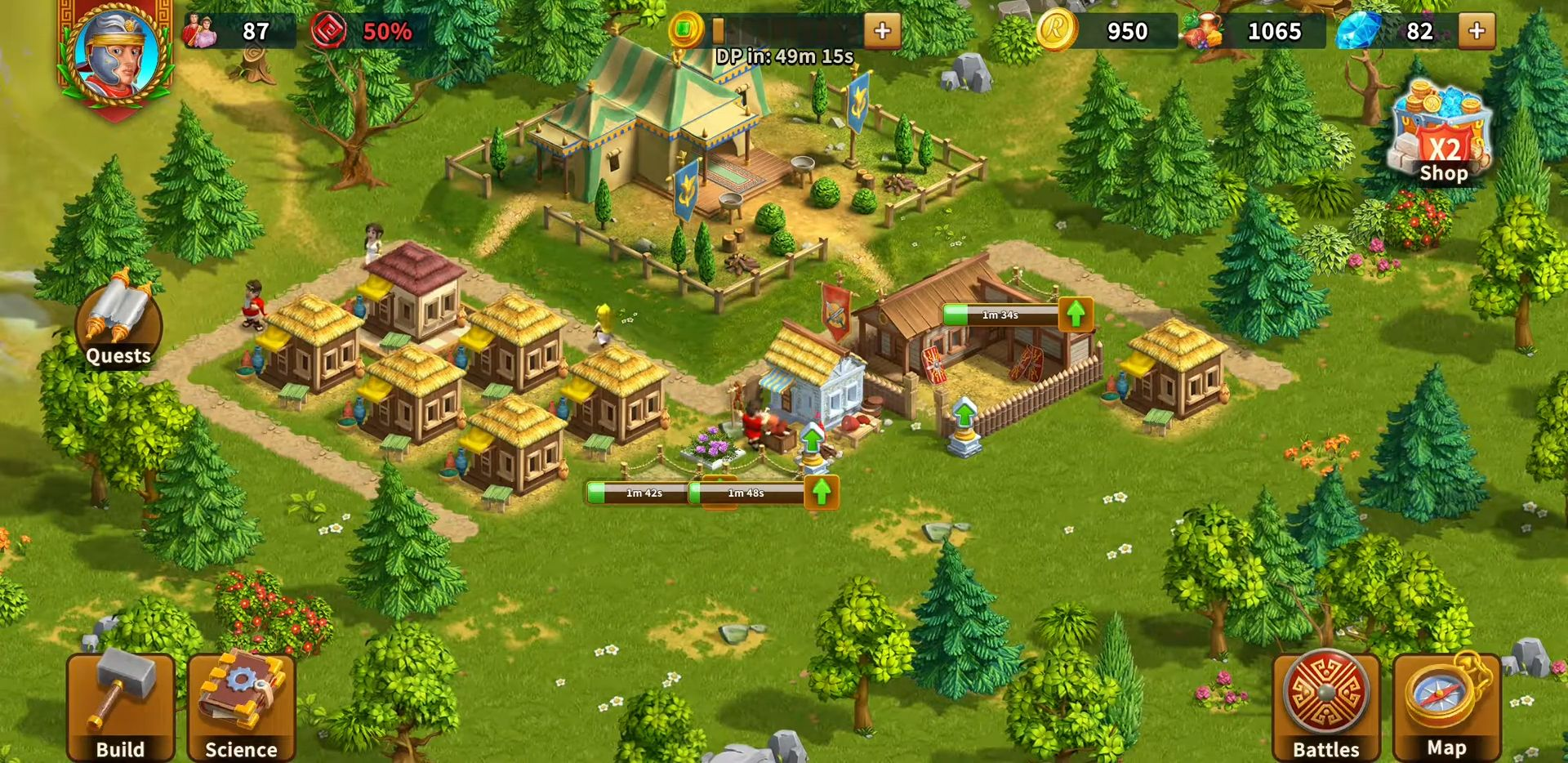 Rise of the Roman Empire: City Builder & Strategy for Android