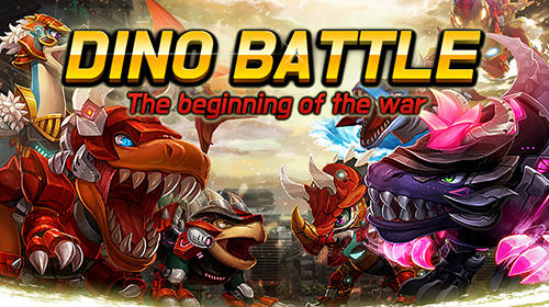 アイコン Dino battle: The beginning of the war