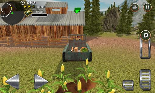 Hill farm truck tractor proукраїнською