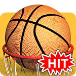 Basketball hit icône