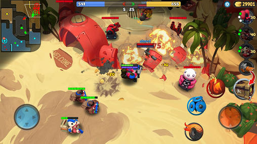 Multiplayer PigBang: Slice and dice für das Smartphone