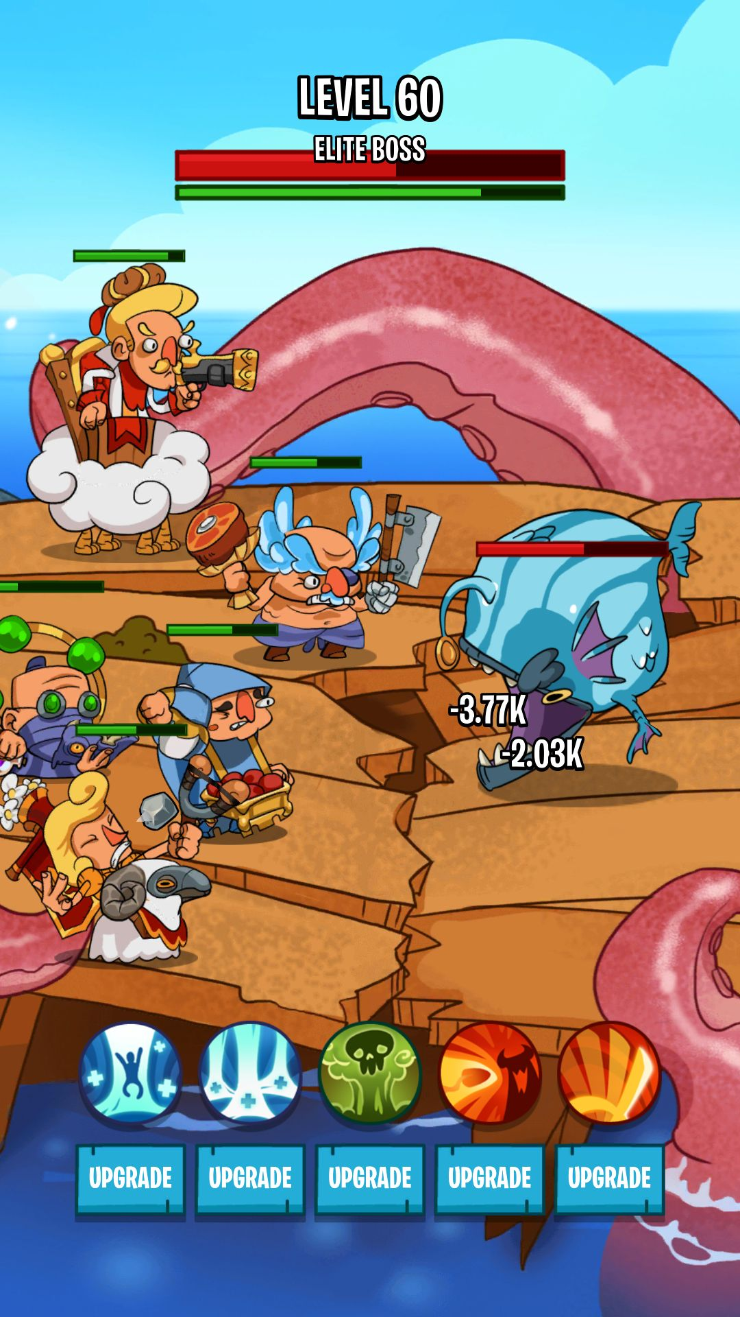 Semi Heroes 2: Endless Battle RPG Offline Game para Android