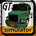 Simulador de grande caminhão ícone