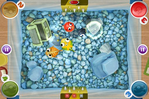 Fiesta de los peces globos en español