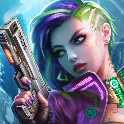 Battle Night: Cyber Squad-Idle RPG icono